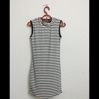 Black & White Stripes One Piece