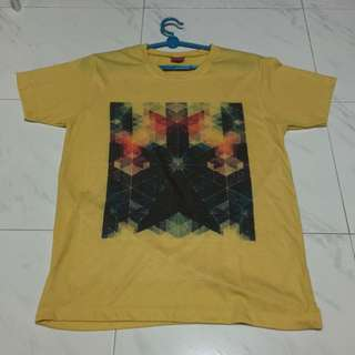 Mustard Graphic Tshirt (preloved)