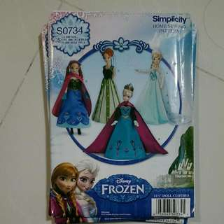 Frozen. Home Sewing Patterns