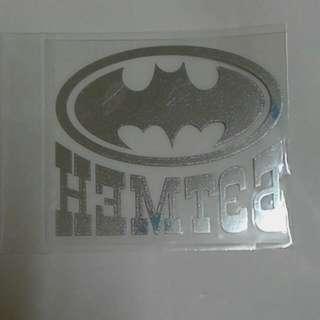 蝙蝠俠  機車 汽車 防水貼紙