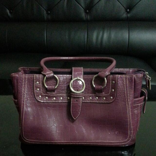 降價-紫色托特包