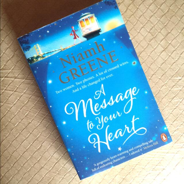 A Message To Your Heart (Niamh Greene)
