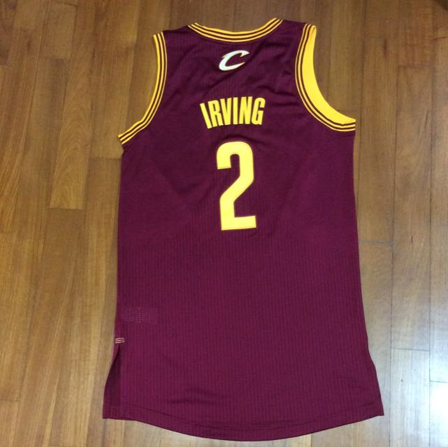 sale retailer 15f04 6b316 Authentic NBA Jersey (not Swingman) - Kyrie Irving - Cleveland Cavaliers