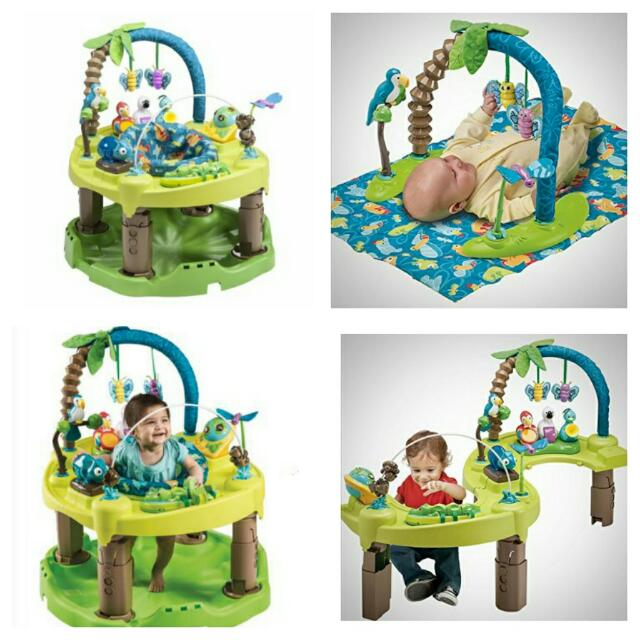 3c1620748 BNIB) Evenflo Exersaucer Triple Fun Active Learning Center