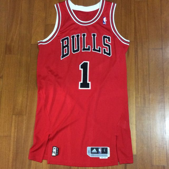 new styles 18fae 5e3d0 Chicago Bulls - Adidas Revolution 30 Authentic NBA Jersey ...