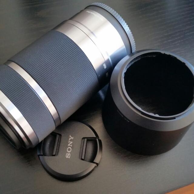 Sony E-mount Camera Lens SEL55210 (Used)