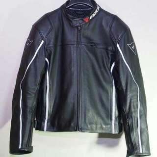 DAINESE復古式皮衣 休閒式皮衣 防摔衣 街車 美式 內含四件式護具52號