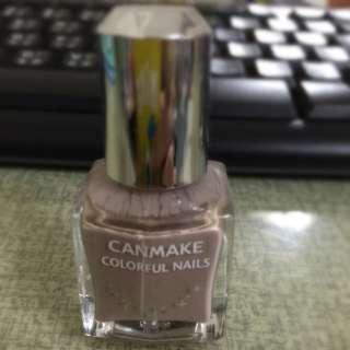 Canmake 裸色指甲油62色
