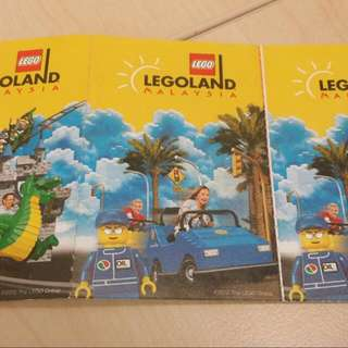 3 Adult Legoland Tickets