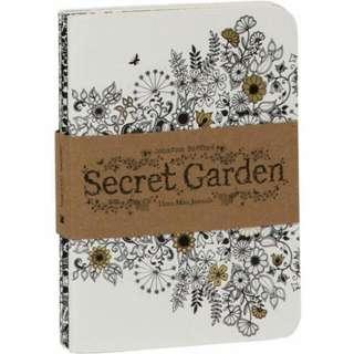 Secret Garden 3 Mini Journal Johanna Basford