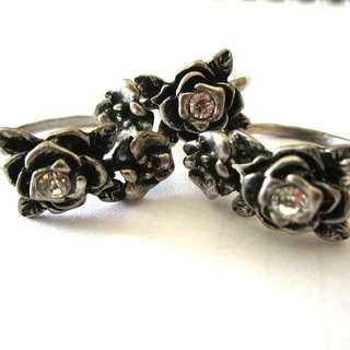 Vintage Triplets Ring