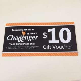 Challenger $10 Voucher