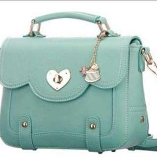 Lady Sling Bag (Mint Green)