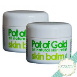 2 x Pot of Gold Skin Balm 50g with free gift