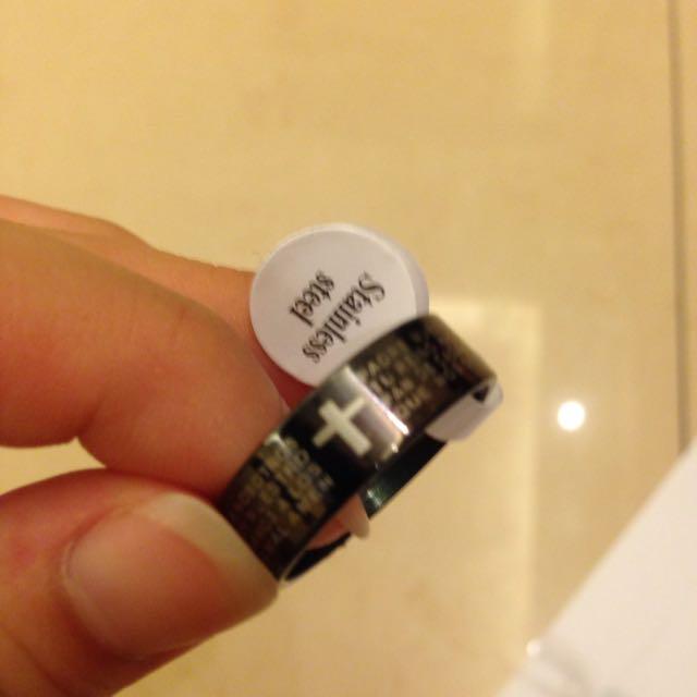 316L醫療鋼 戒指
