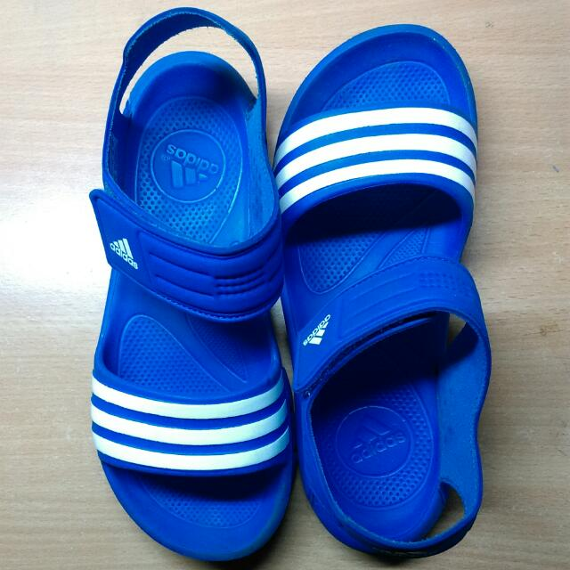 Adidas 愛迪達 涼鞋 休閒鞋 大童鞋