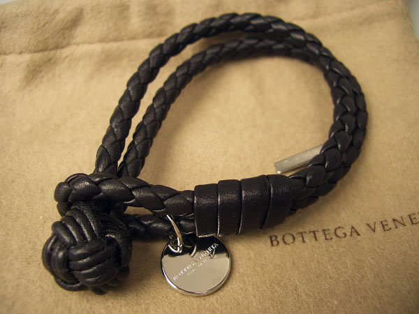 braceletmodel pdp sterling leather bracelets intrecciato veneta bracelet product flexh bottega silver