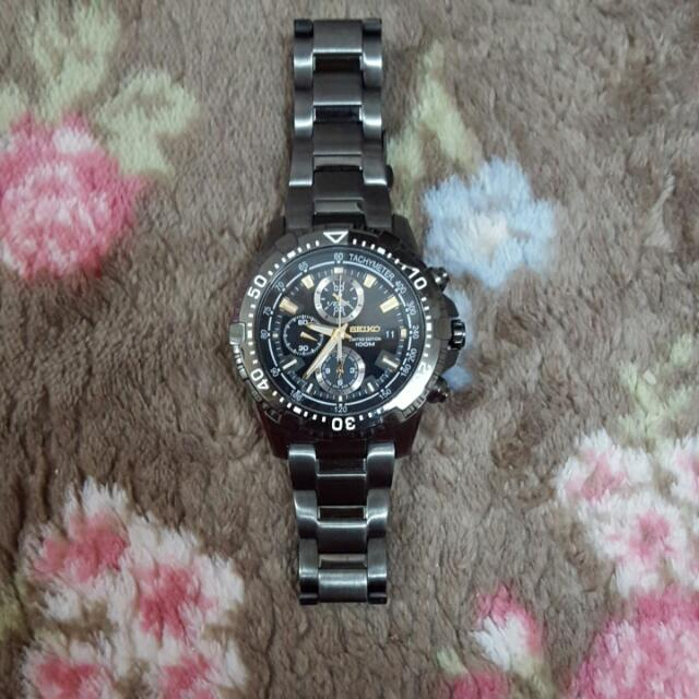AUTHENTIC SEIKO LIMITED EDITION MEN WATCH