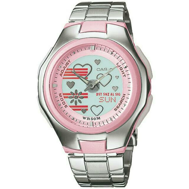 降降降👇CASIO 甜美青春氣息時尚腕錶✨