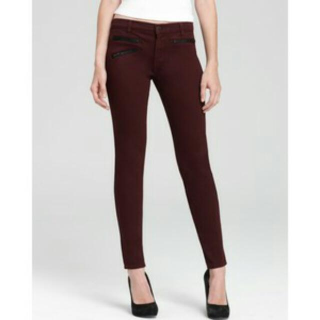 Cotton On HW Maroon Jeans