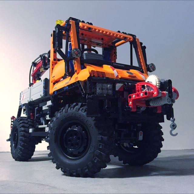 lego technic unimog 8110 modified toys games on carousell. Black Bedroom Furniture Sets. Home Design Ideas