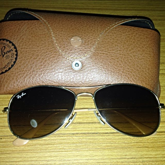 Ray Ban Cockpit Sunglasses - Authentic
