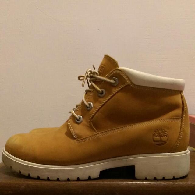 《降價》Timberland女 經典四孔短靴 UK6.5