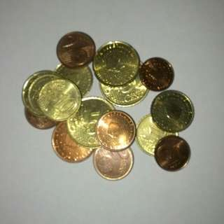 Cheap Old Euro Coins Grabbag (Reserved)