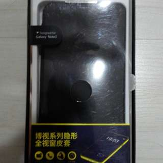 Samsung Note 3 Original Rock Dot View Case Black