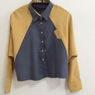 Blue & Yellow Top