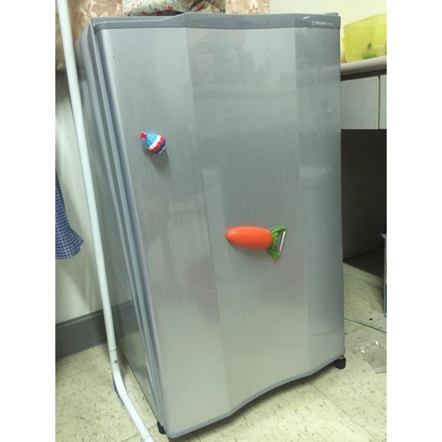 (便宜賣)大同100公升環保♻️省電單門小冰箱