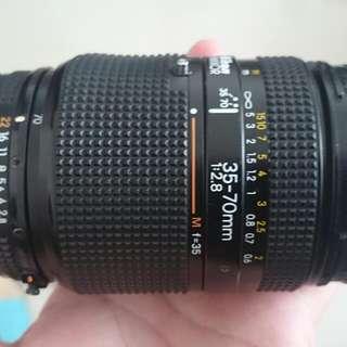 Nikon 35-70 1:2.8 恆定大光圈 前前鏡皇