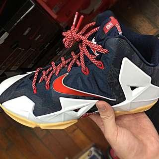 Nike LBJ 11 美國隊配色 Us9.5-10.5