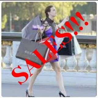Sales!!!!