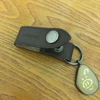 Porter 小豬  Pig Power鑰匙圈 (真皮)