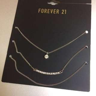 Forever21 項鍊組