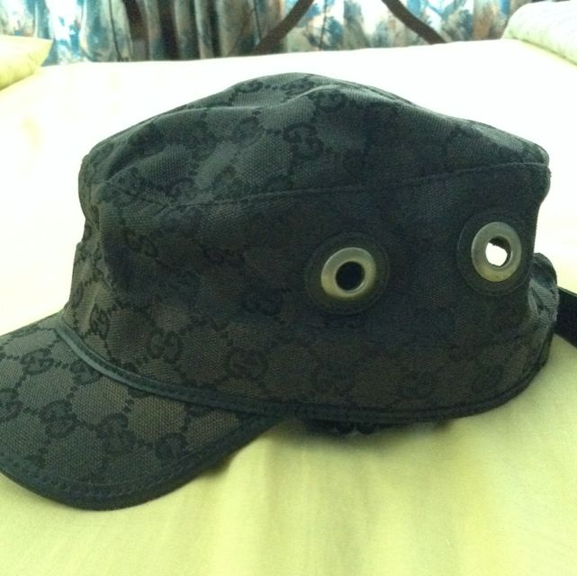 Authentic Gucci Military Cap 422085b65a1