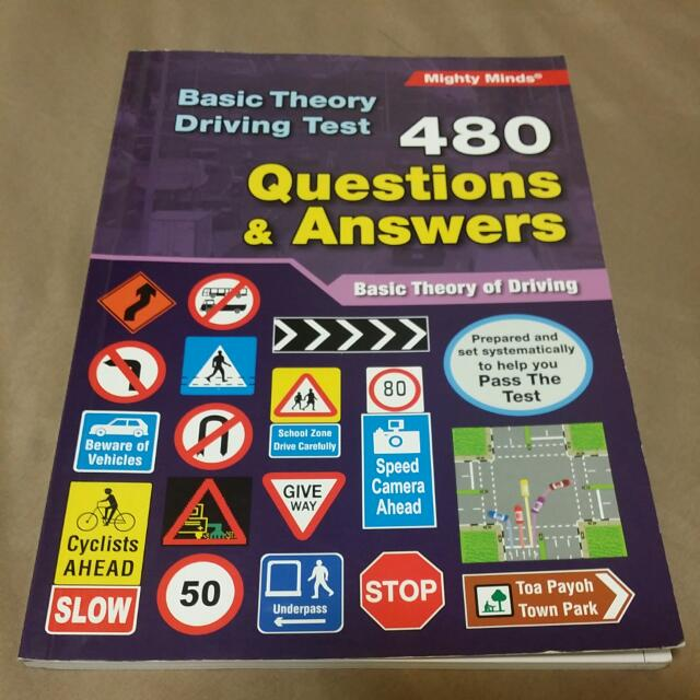 Basic Theory Test 480 Questions And Answers