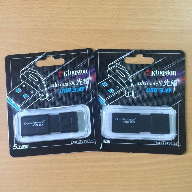 雙十特優Kingston UltimateX USB3.0 128G