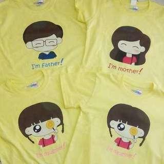 Customized Family Shirt
