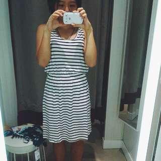 [PL] H&M Stripe Dress