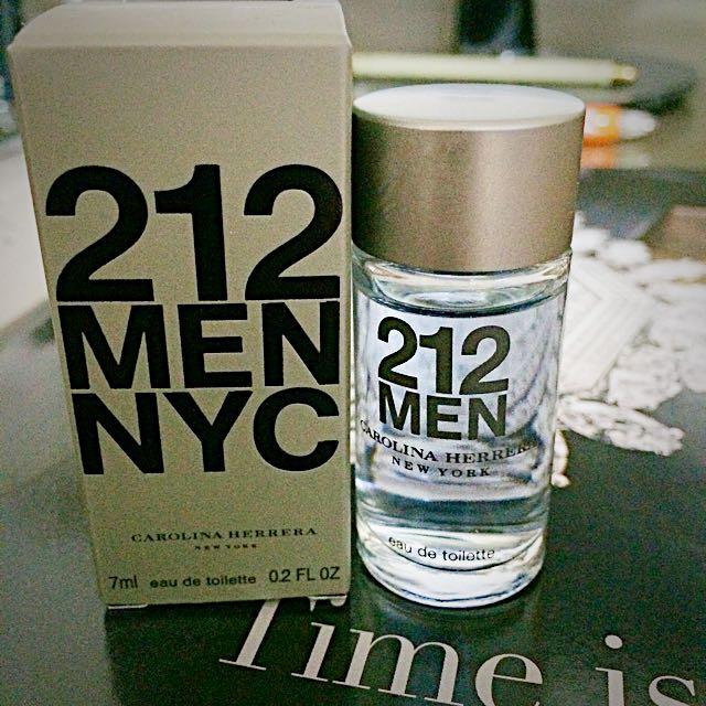 (全新)212男性淡香水 小香