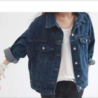 Boyfriend Denim Jacket [PENDING]