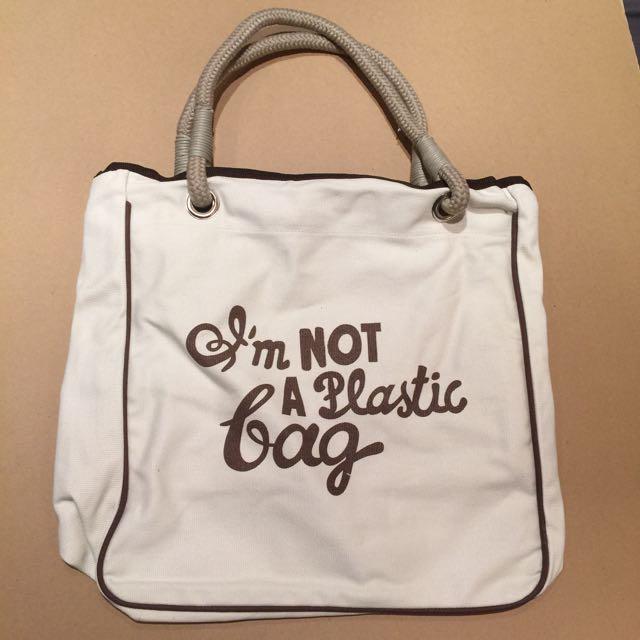 復古懷舊環保袋、容量大、全新