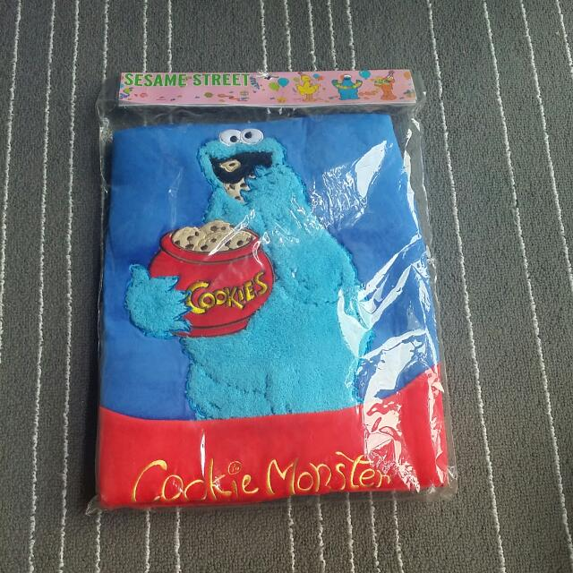 Brand New Authentic Sesame Street Cookie Monster Seat Cover
