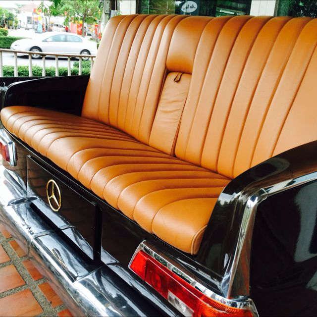 Classic Mercedes Benz Sofa Furniture On Carousell