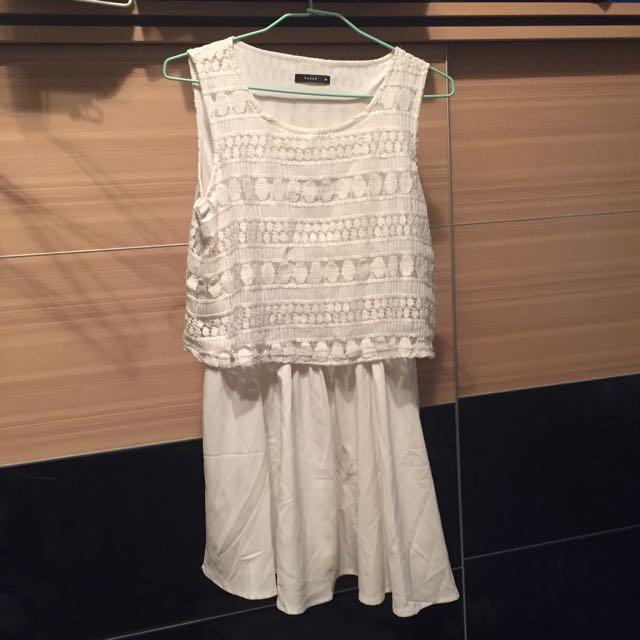Pazzo白色洋裝