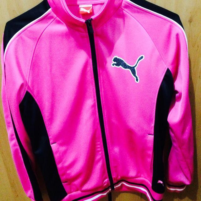 PUMA 粉紅色運動外套