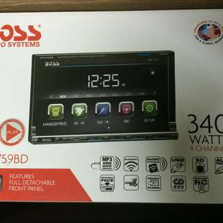 Boss DVD Receiver Touch7""