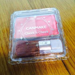 【九成新】【洽中】Canmake 雙色腮紅